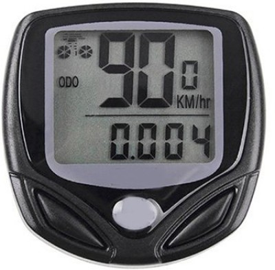 Gadget Hero's WaterProof Bicycle Odometer with 16 Functions Wired Cyclocomputer  available at flipkart for Rs.309