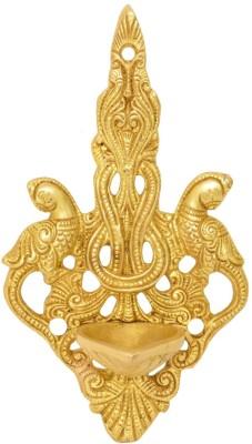 Aakrati Brass Wall Deepak Brass Hanging Diya(Height: 7 inch)  available at flipkart for Rs.859