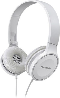 Panasonic RP-HSC200E-W Wired Headset with Mic(White, In the Ear)