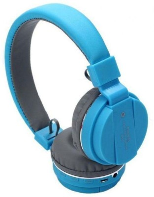 5PLUS 5PHP44 Wired Headset without Mic(Blue, On the Ear)
