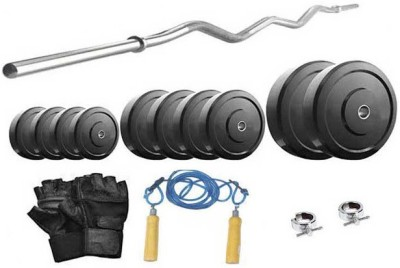Protoner 6 Kg & 3 Feet Rod Home Gym Kit
