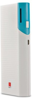 Iball 10000 mAh Power Bank  PB 10017, Dual USB Port Slim Light Weight  Multicolor, Lithium ion