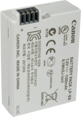 Canon LP- E8 Rechargeable Li-ion Battery at flipkart