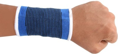 Infinxt Wrist Support For Sport, Gym and Physical Activities (1 Pair) Waist Support (Free Size, Blue)  available at flipkart for Rs.169