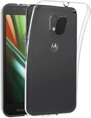 Flipkart SmartBuy Back Cover for Motorola Moto E3 Power(Transparent, Rubber)