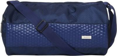 Impulse  Expandable  Football Gym Bag Blue Impulse Duffel Bags