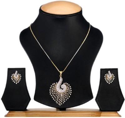 renaissance traders re141 Yellow Gold Diamond Yellow Gold Pendant Set