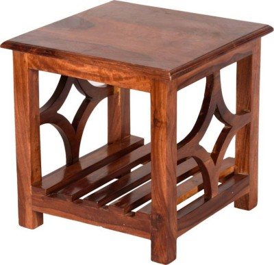VAS Collection Home Solid Wood Side Table(Finish Color - Brown)