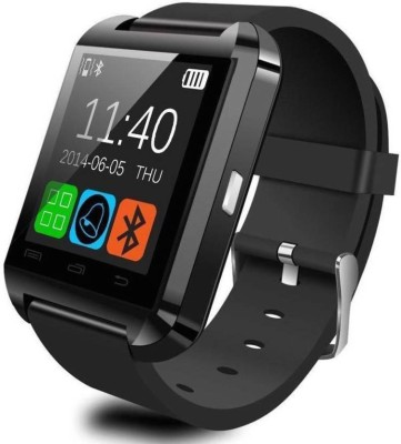 GENEXTONLINE U8 Bluetooth Smartwatch(Black Strap Regular) 1