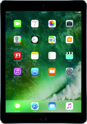 View Apple iPad 128 GB 9.7 inch with Wi-Fi Only(Space Grey)  Price Online