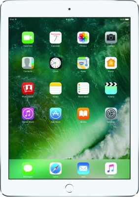 View Apple iPad 128 GB 9.7 inch with Wi-Fi Only(Silver)  Price Online
