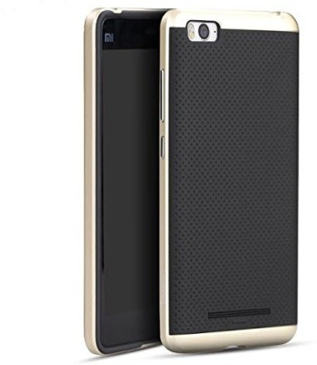 Premsons Back Cover for Mi 4i, Xiaomi Mi 4c(Gold, Plastic)