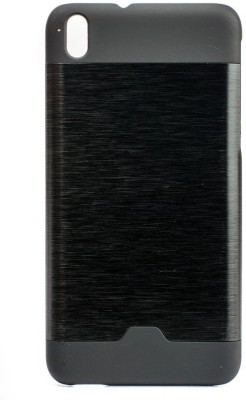 Mystry Box Back Cover for HTC Desire 816(Black, Rubber, Metal)