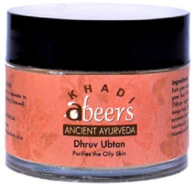 Khadi Abeers Dhruv Ubtan For Men, 50 GM