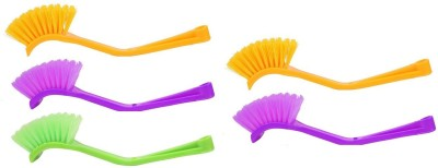 bajrang Wash basin and Sink cleaning Brush (05 pcs.) Home Cleaning Set  available at flipkart for Rs.150