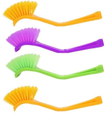 bajrang Wash basin and Sink cleaning Brush (04 pcs) Home Cleaning Set  available at flipkart for Rs.130