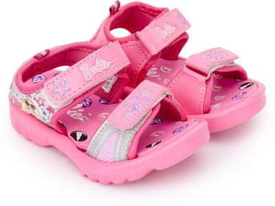 Barbie Girls Slip-on Sports Sandals(Pink) at flipkart