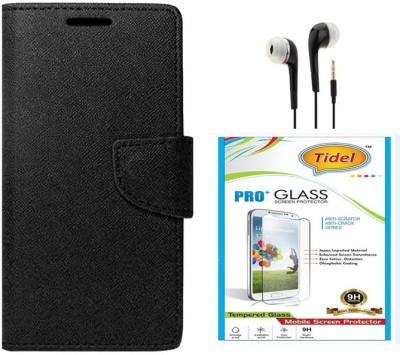 Tidel Case Accessory Combo for Xiaomi Redmi Note 3(Black)