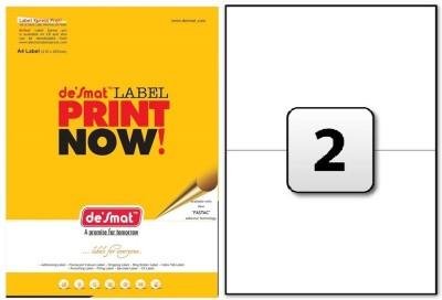 Desmat Self-Adhesive Paper Label(White)