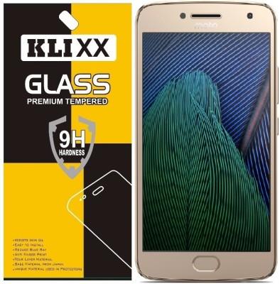 Klixx Tempered Glass Guard for Motorola Moto G5 (5 inch)