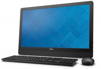 Dell - (Core i3 (6th Gen)/4 GB DDR3/1 TB/Windows 10 Home)(Black, 23.8 Inch Screen)