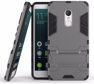 Mobile Mart Back Cover for Mi Redmi Note 4 Grey, Shock Proof Mobile Mart Plain Cases   Covers