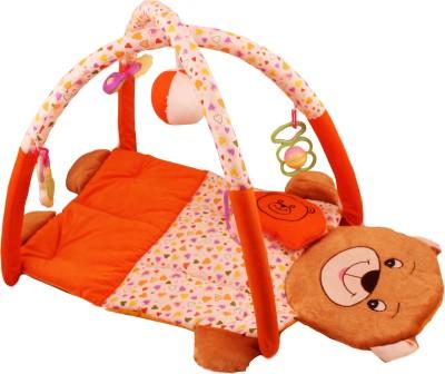 Tabby Toys Teddy Bear Foldable Activity Musical Play Gym For Baby(Multicolor)  available at flipkart for Rs.999