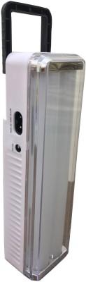 Home Delight Solar Rechargeable Long Twin Tube Emergency Light Emergency Light(White)