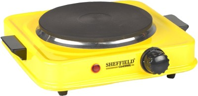 Sheffield Classic Sh-2001induction Radiant Cooktop(Yellow, Push Button)