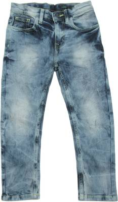 United Colors of Benetton Carrot Fit Boys Blue Jeans