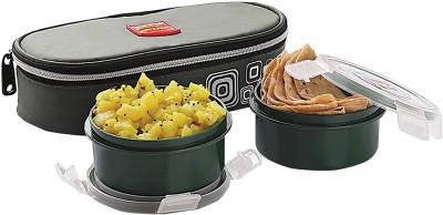 Cello Max Fresh Click Plastic 2 Containers Lunch Box
