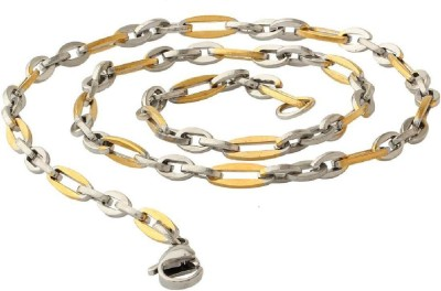 Dare for Voylla Artificial Classic Plain Stainless Steel Chain at flipkart