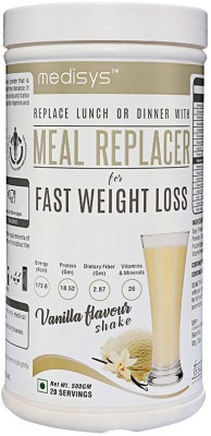 Medisys Meal Replacer Fast Weight Loss (500gm / 1.11lbs, Vanilla)