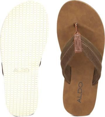 fc166a274 ALDO Men Dark Brown Sports Sandals ...