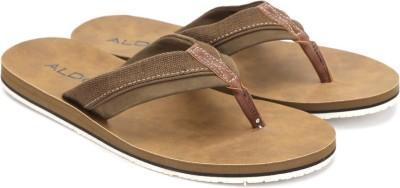 ALDO Men Dark Brown Sports Sandals at flipkart