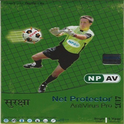 NPAV Net Protector Antivirus Pro 2017 1Pc 1Year Antivirus