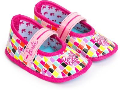 Barbie BB1EBL2102 PINK/SKY BLUE Booties(Toe to Heel Length - 12 cm PINK/SKY BLUE)
