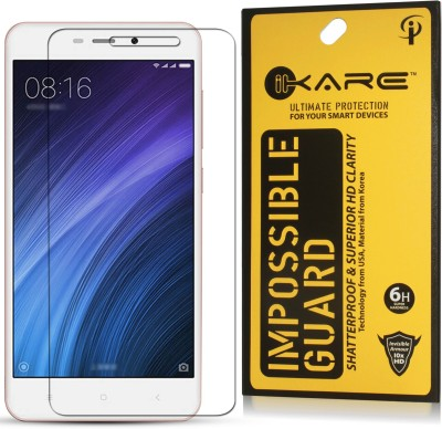iKare Impossible Screen Guard for Mi Redmi 4A(Pack of 1)