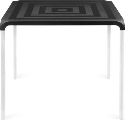 Nilkamal Novella Plastic 4 Seater Dining Table(Finish Color - Black)  available at flipkart for Rs.3347