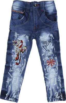 Punkster Regular Baby Boys Blue Jeans
