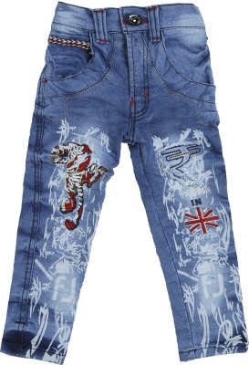 Punkster Regular Baby Boys Light Blue Jeans