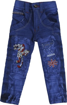 Punkster Regular Boys Dark Blue Jeans