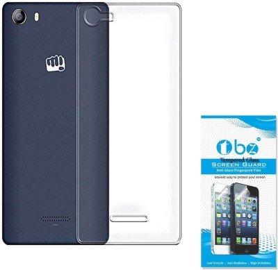 TBZ Cover Accessory Combo for Micromax Canvas 5 E481 Transparent
