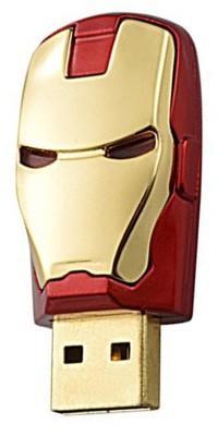 Green Tree Iron Man Head Fancy 16  GB Pen Drive