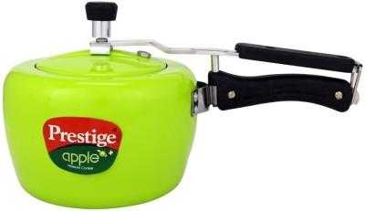 Prestige Apple Plus Aluminum Green 3 L Induction Bottom Pressure Cooker Aluminium Prestige Pressure Cookers