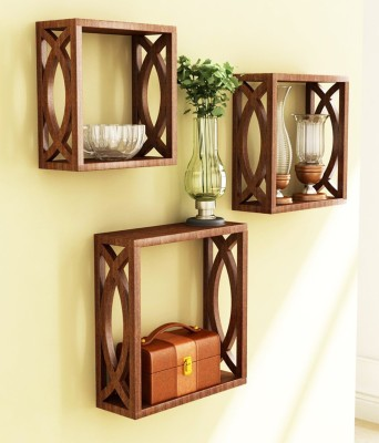 Decor World MDF Wall Shelf(Number of Shelves - 3)