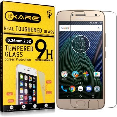 iKare Tempered Glass Guard for Motorola Moto G5, Motorola Moto G 5th Gen(Pack of 1)