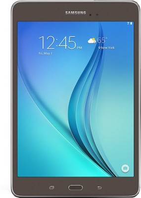 Samsung Galaxy Tab A T355Y 16 GB 8 inch with Wi-Fi+4G Tablet(Smoky Titanium) at flipkart