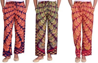 Arkes Regular Fit Women's Multicolor Trousers