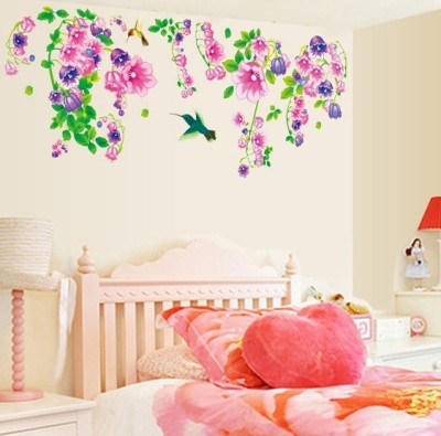Oren Empower Large Self Adhesive Wall Stickers Sticker(Pack of 1)